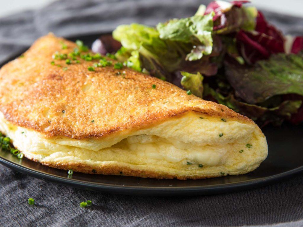Souffle omelette4